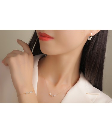Collier Only one 5 médaillons