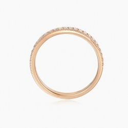 Bague ELEANOR Spinelle rouge