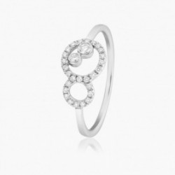 Bague OCEANE Aigue marine