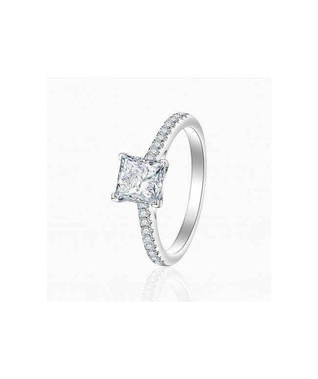 Bague Solitaire Jeanne diamants | Djoline Joailliers