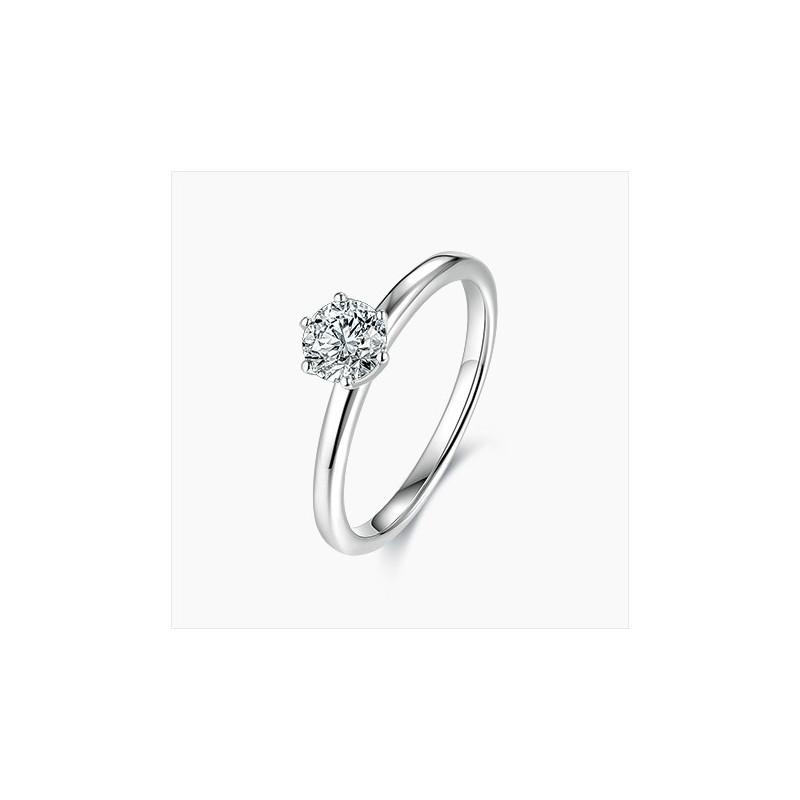 Bague Solitaire Valentine diamants Or | Djoline Joailliers