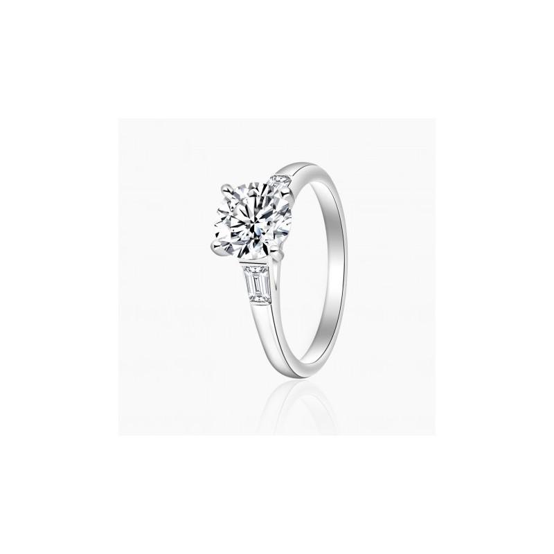 Bague Solitaire Céline diamants Or 18K | Djoline Joailliers