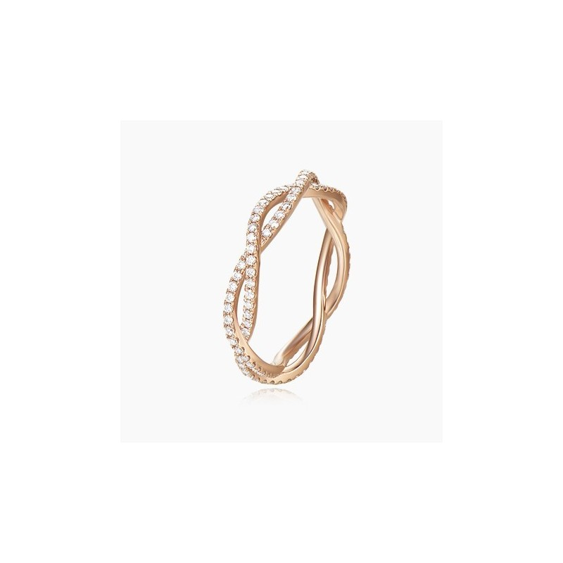 Alliance Femme diamant Felicity Or 18K | Djoline Joailliers