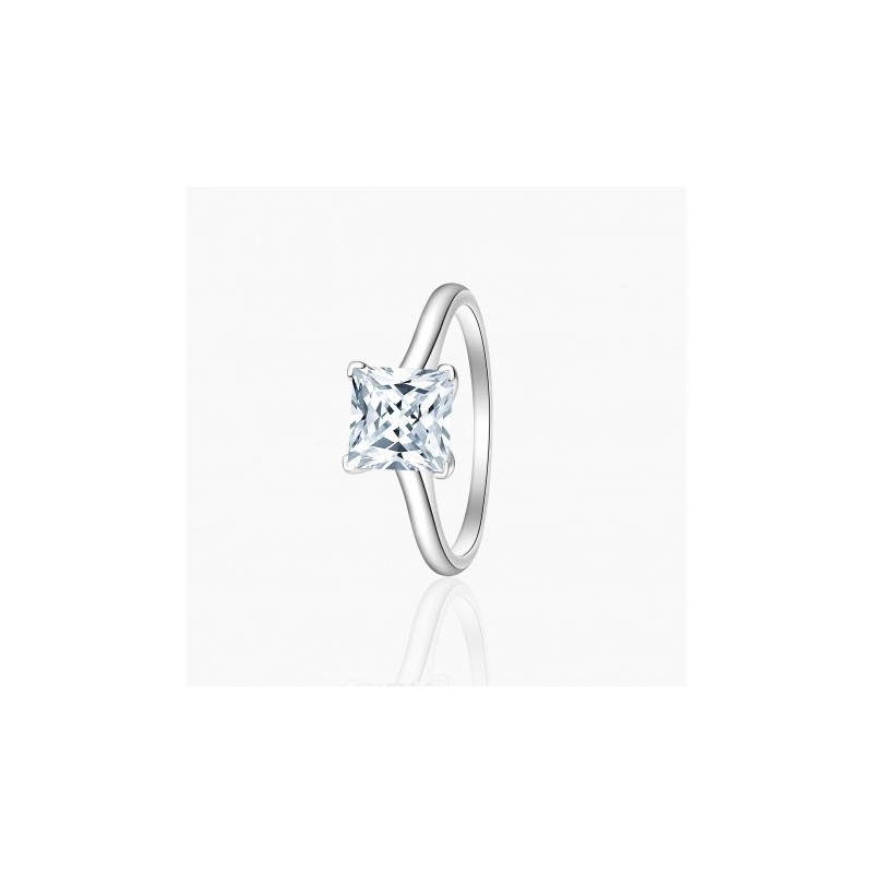 Bague Solitaire Karin diamants Or Blanc |Djoline Joailliers