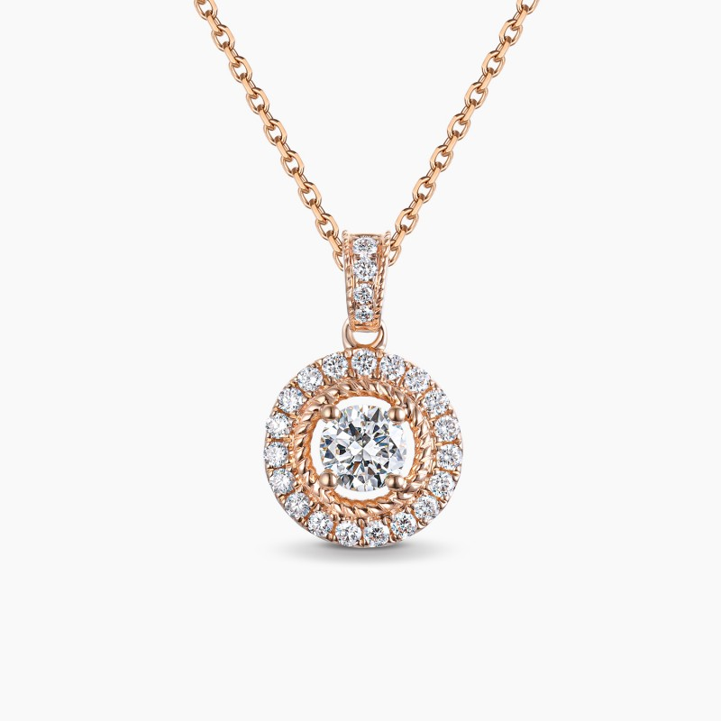 Collier Illusion PM diamant Or | Djoline Joailliers