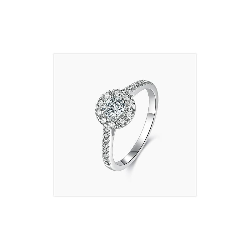 Solitaire diamant Eva Or| Djoline Joailliers