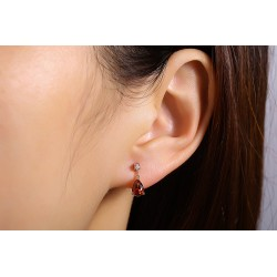 Boucles d'oreilles puces AKOYA
