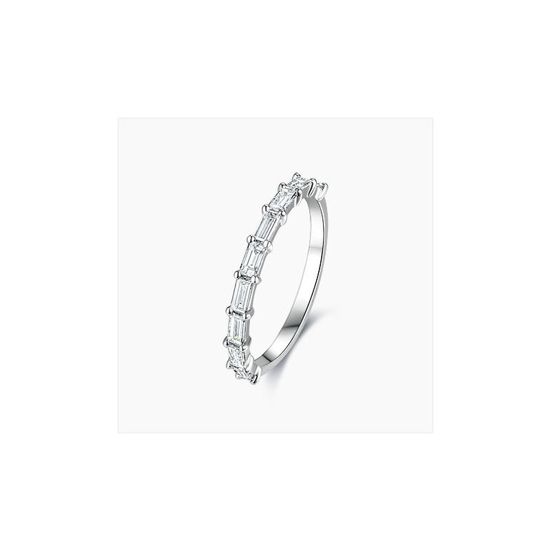 Alliance Femme diamant Célia Or Blanc   Djoline Joailliers