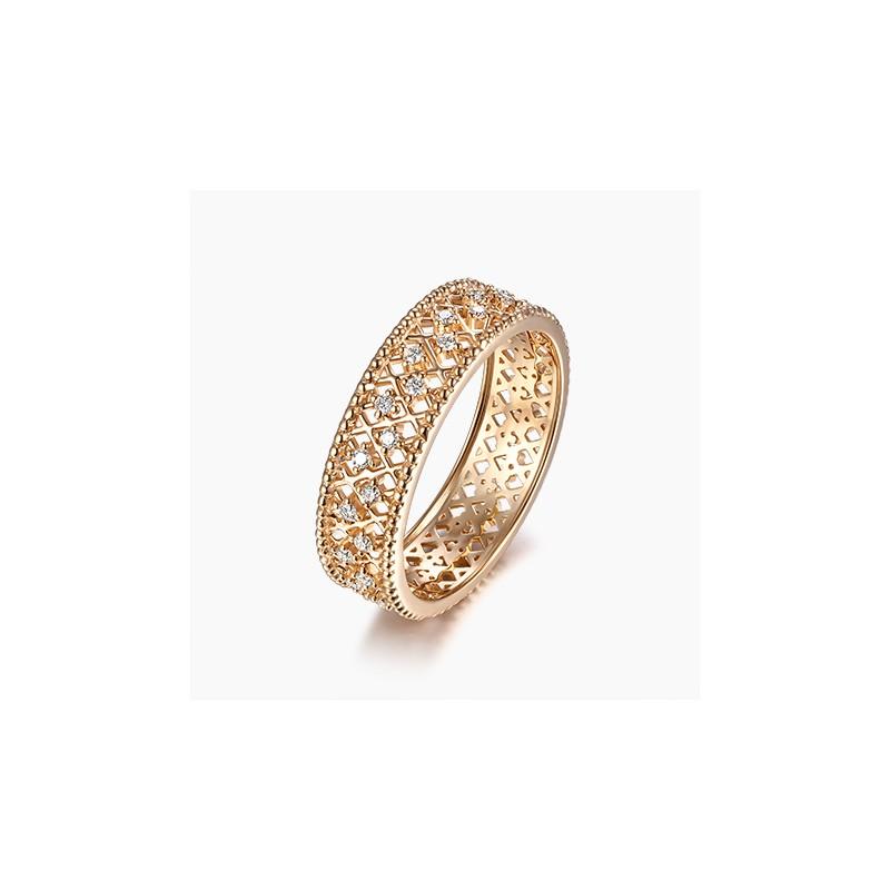 Alliance Femme diamant Charlotte Or | Djoline Joailliers