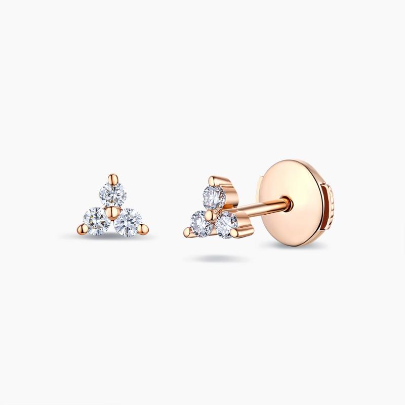 Boucles d'oreilles or et diamant | Par Djoline Joailliers