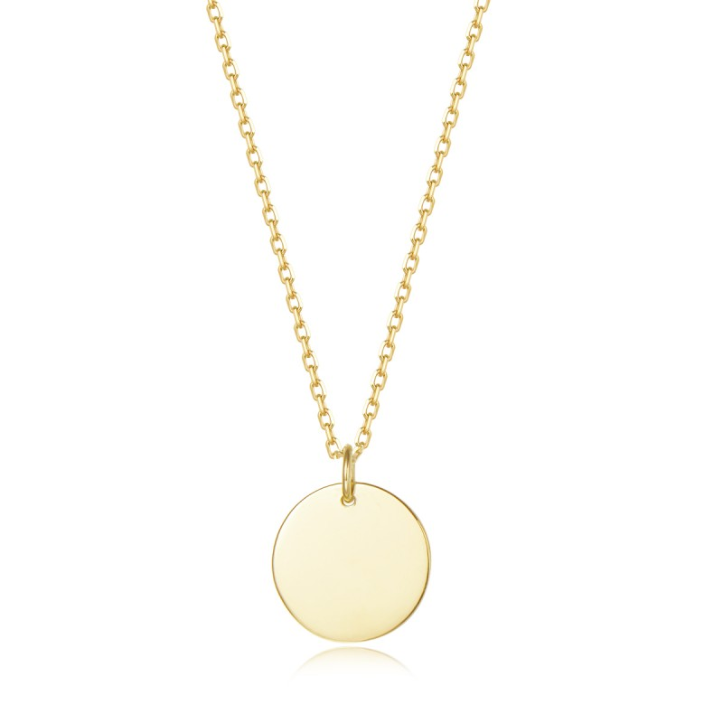 Collier First One médaillon Or jaune PM | Djoline