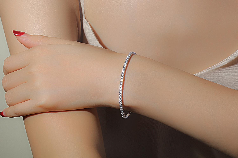 Bracelet or diamants